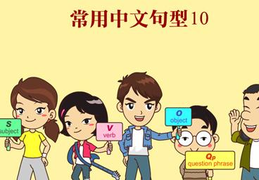 常用中文句型10