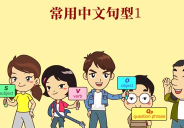 常用中文句型1