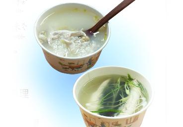 虱目魚湯和虱目魚粥