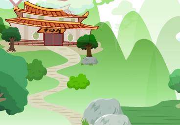 超峰寺的飛瓦傳說